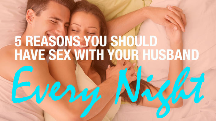 how often should you have sex with your husband