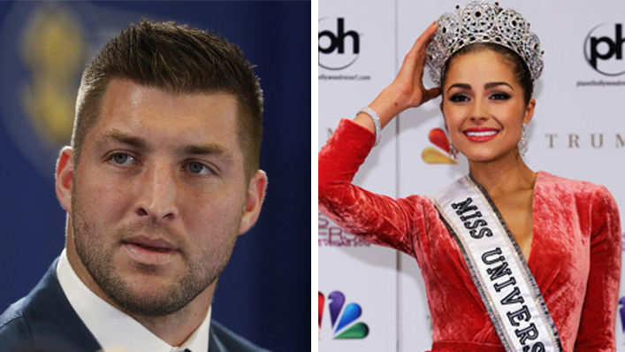 Who has tim tebow dated in Melbourne