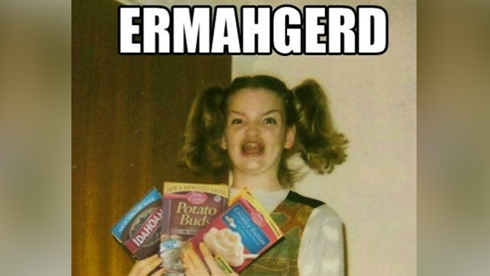 "Memba the ""Ermahgerd"" Girl?? Well She's a REAL Person. And ..."