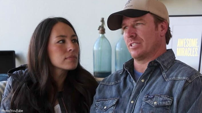 Fixer upper 39 couple gets honest about the danger of for Do people on fixer upper get to keep the furniture