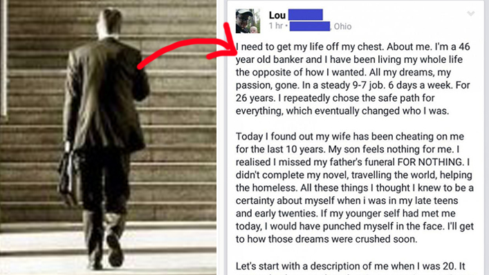 46-Year-Old Banker Finds Out Wife Has Been Cheating For 10