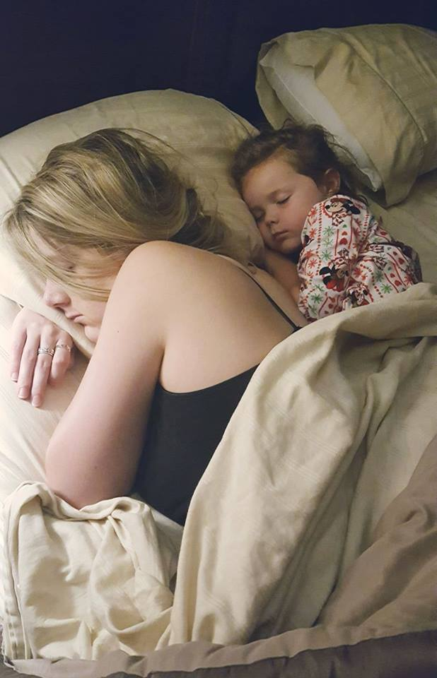 """Mom Sneaks In Sons Bedroom: Husband """"Sneaks"""" Photo Of Mom & Daughter In Bed—Then Wife"""