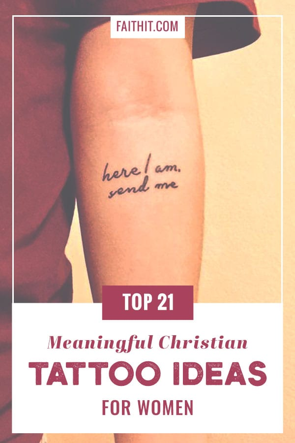 Top 21 Meaningful Christian Tattoo Ideas For Women