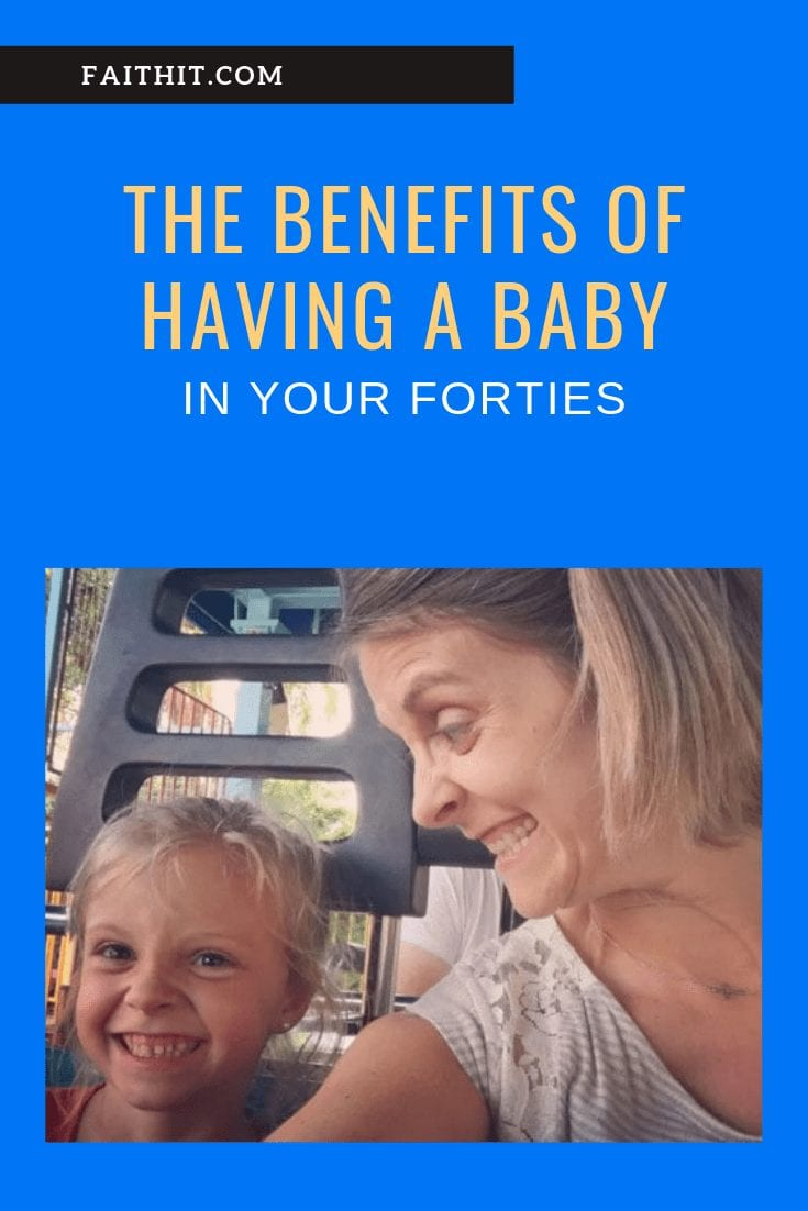 having a baby in your forties