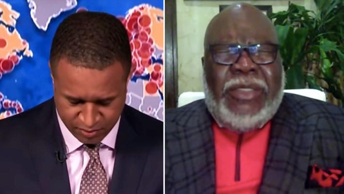 """I've Never Done This on the Air"": MSNBC Host Asks T.D. Jakes to Pray on Live TV"