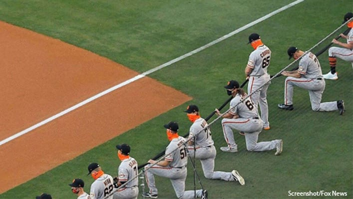 """MLB Giants Pitcher Sparks Controversy: """"I'm a Christian. I Can't Kneel Before Anything Besides God."""""""