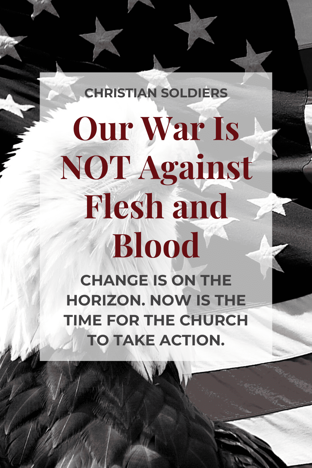 our war is not against flesh and blood