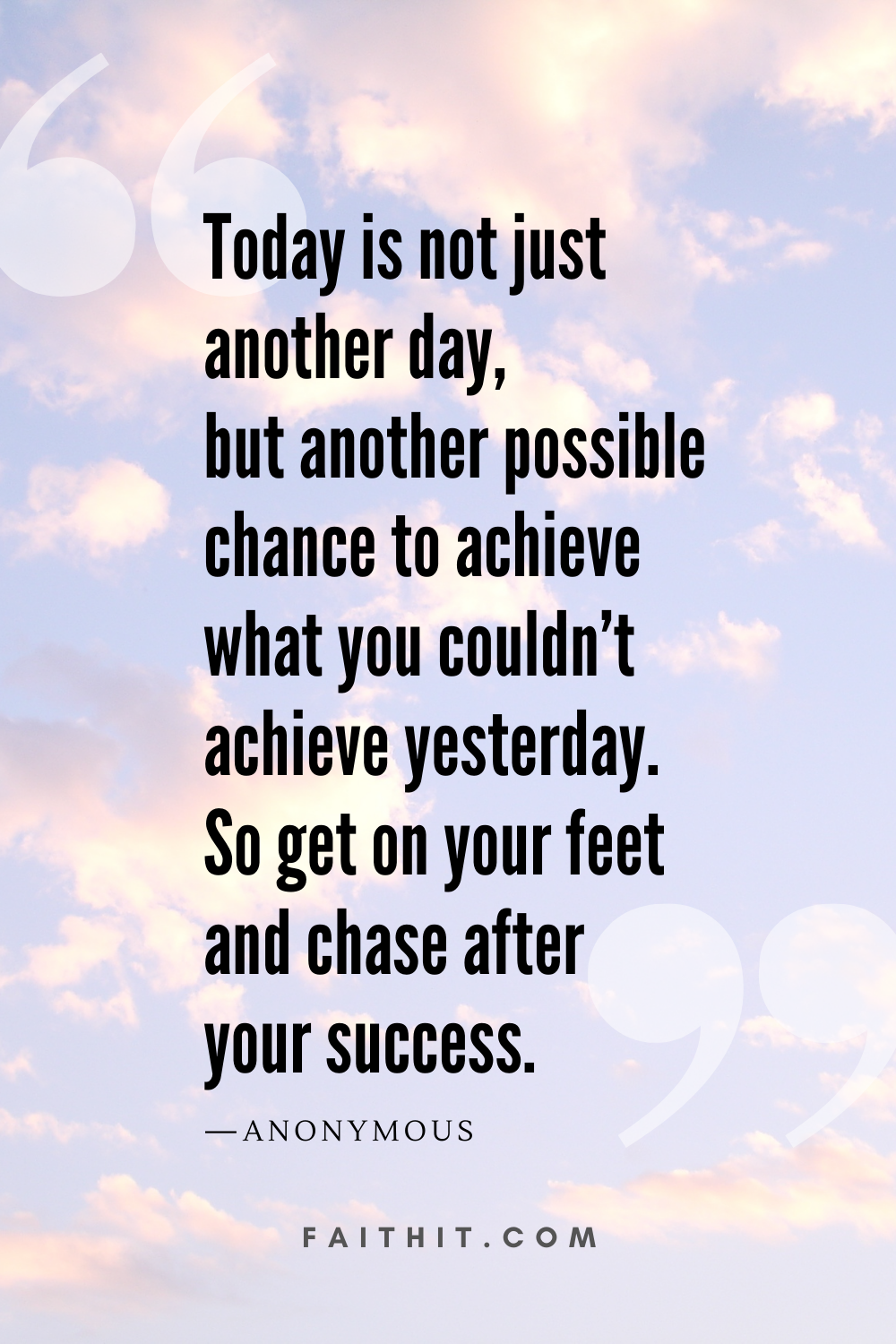 good morning quotes success