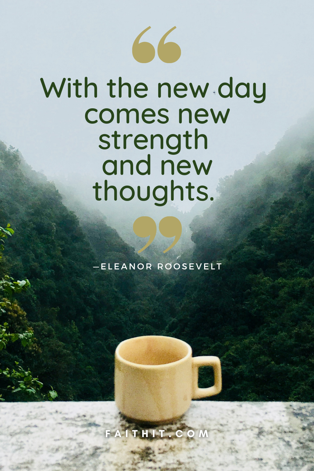 good morning quotes Eleanor Roosevelt