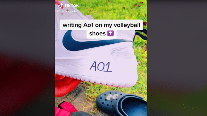 A01 writing shoes