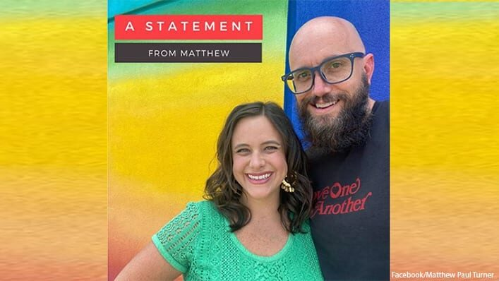 Matthew Paul Turner Christian Children's Book Author and Former CCM Magazine Editor Announces He's Gay; Getting Divorced