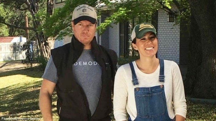 chip and joanna gaines in People magazine