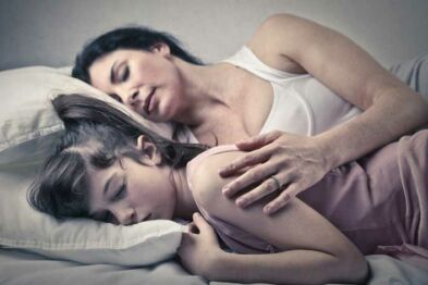slept with my mother